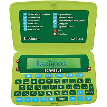 Lexibook-SCR8FR Elektronisches Wrterbuch des Scrabble ODS8, Larousse FISF, ergonomisches Format,