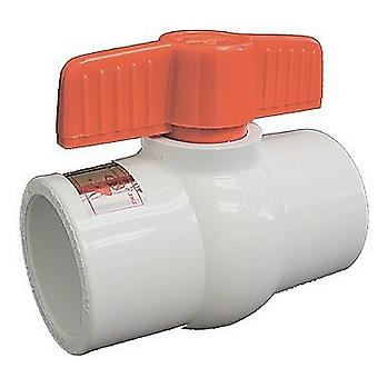 """American Granby HMIP200SE 2"""" Pvc Molded-in-place Schedule 80 Ball Valve"""