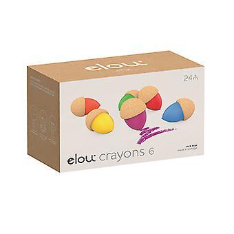 Elou Crayons 6 Pack