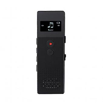 Voice Recorder Recorder with USB Support(Black)