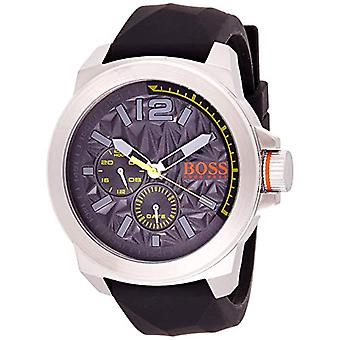 Boss Mænds Kvarts Multi-Dial Watch med Gummi Strap 1513347