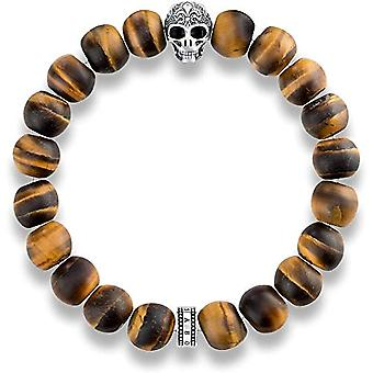 Thomas Sabo Elastische Armband Herren Silber - A1701-826-2-L18