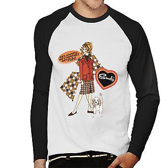 Sindy Wonderful Fashionable Fun Men's Baseball Long Sleeved T-Shirt
