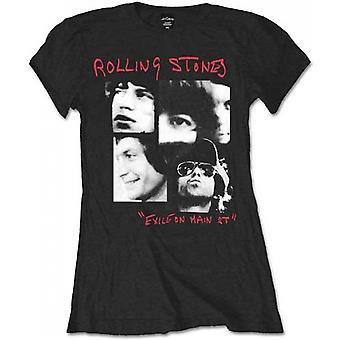 The Rolling Stones - Photo Exile Ladies Medium T-skjorte - Svart