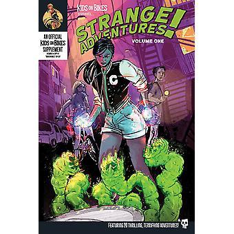 Strange Adventures Vol.1 (Softcover) Kids on Bikes RPG Board Game