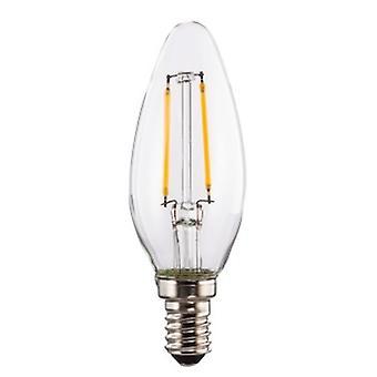 Xavax 00112555 2 W E14 A + + Varmvitt ?LED-lampa (varmvit, A + +, 230 V, 13 MA, 2 kWh, 3,5 cm)