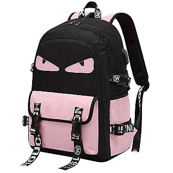 Water-repellent Nylon Fashion Laptop Styled School Backpack