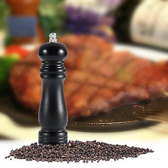 Home Kitchen Wood Chateauneuf Pepper Mill Shaker Pepper Grinder Black