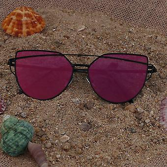 Odblaskowe Uv Ochronne Koty Oko Panie Sun-glass Star Style Summer Holiday