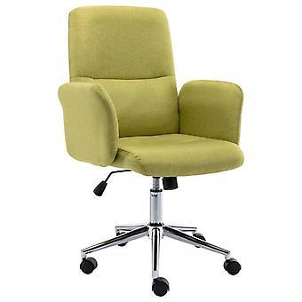 vidaXL مكتب رئيس النسيج الأخضر