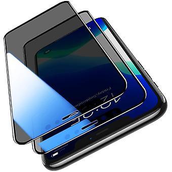Panzerglas Schutzfolie für iPhone 11,iPhone 11 and iPhone XR Anti-Spähen Gehärtetem