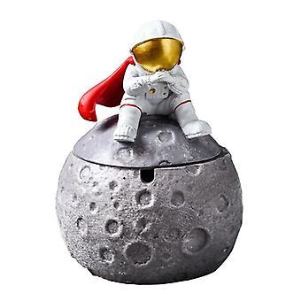Astronautti Ashtray Luova Tuhkakuppi kotiin Söpö Sarjakuva Astronautti Ashtrays Space Dream Series