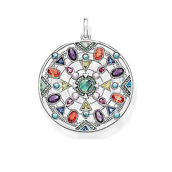 Colorful 925 Sterling Silver Pendent Jewelry