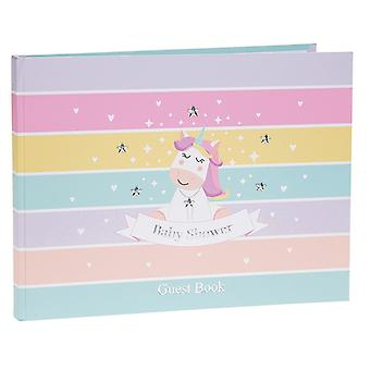 Unicorn Baby Shower Guest Book
