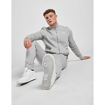New STATUS Men's Colt Interlock Tracksuit from JD Outlet Grey