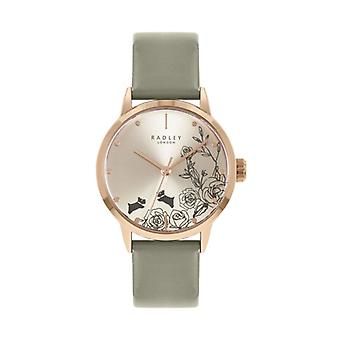 Radley Mto - Ss21 Promo Ry21242a Cream Dial Leather Strap Ladies Watch