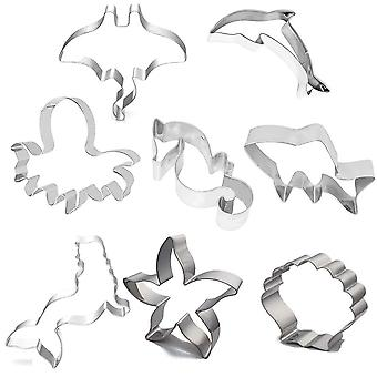 Stainless Steel Cookie Cutter Marine Animal Suit Cookie Cutters