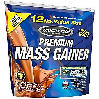 100% Premium Mass Gainer, Strawberry - 5440 grams