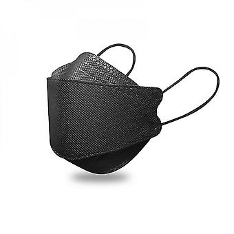 10/30/50 Pcs Adult Disposable Face Mask Real 4-ply Face Bandana Adjustable Nose Strap Breathable