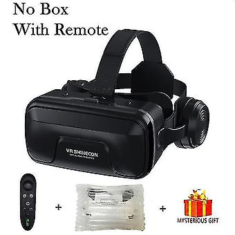 3D glasses vr shinecon 10.0 Helmet 3d glasses virtual reality casque for smartphone smart phone goggles headset