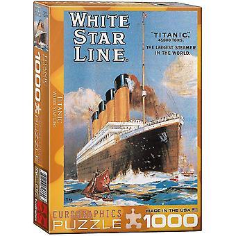 Jigsaw puzzles titanic white star line puzzle 1000 pieces