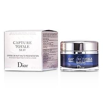 Christian Dior Capture totale Nuit intensiv natt styrkende creme (oppladbart)-60ml/2.1 oz