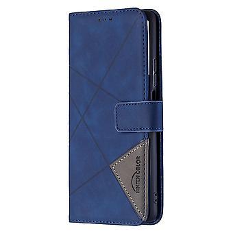 Dla Xiaomi Mi 11t / 11t Pro Case, Premium Pu Leather Folio Cover Magnetic Blue