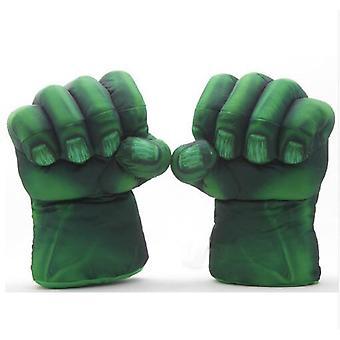 Hulk rukavice Cosplay Plyšové teplé boxerské rukavice