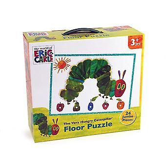Kawałek bardzo głodny Caterpillar 24 Puzzle podłogowe Jumbo dla 3 yrs +