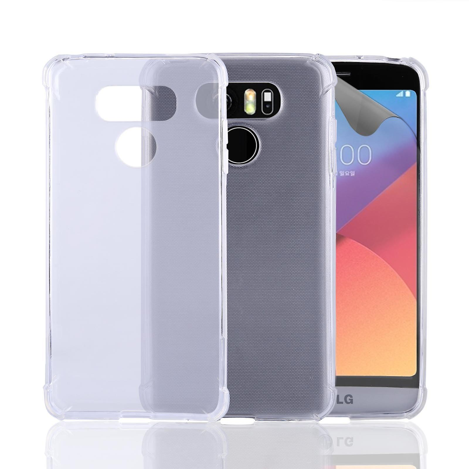 32nd Tough Gel case for LG G6 - Clear