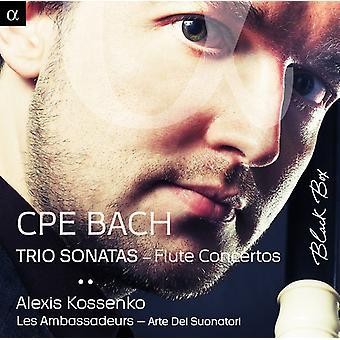 Kossenko, Alexis Les Ambass - C.P.E Bach: Trio Sonaten Rauchfang Konzerte [CD] USA importieren