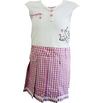 Flickor Sanrio Hello / Charmmy Kitty kort ärm klänning