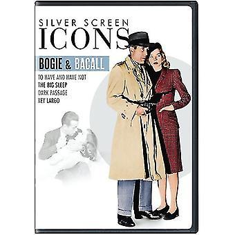 Icone dello schermo d'argento: Leggende - importazione USA Bogie & Bacall [DVD]