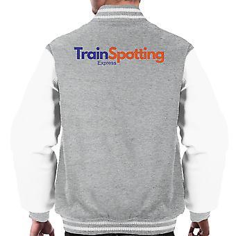 Trainspotting T2 FedEx Express logo férfiak ' s Varsity Jacket
