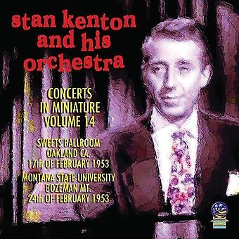 Stan Kenton Orchestra - Concerts in Miniature 14 [CD] USA import