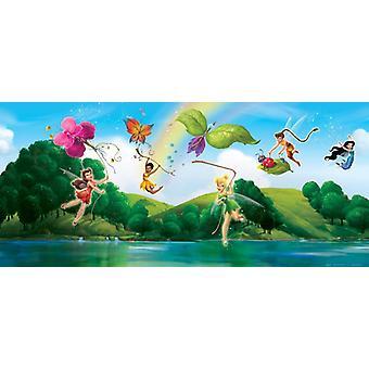 Tinker Bell Disney Fairies Wall Mural Horizontal