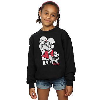 Looney Tunes Mädchen klassische Lola Bunny Sweatshirt