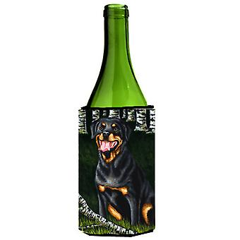 Backwoods Companion Rottweiler Wine Bottle Beverage Insulator Hugger