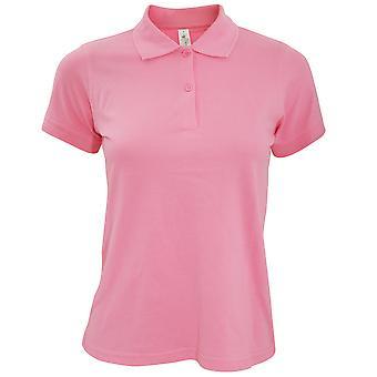B&C Safran Pure Ladies Short Sleeve Polo Shirt