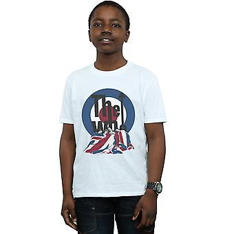 The Who Boys Flag Blanket T-Shirt