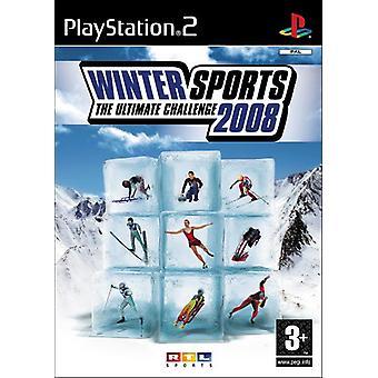 Sports d'hiver 2008 (PS2) - Usine scellée