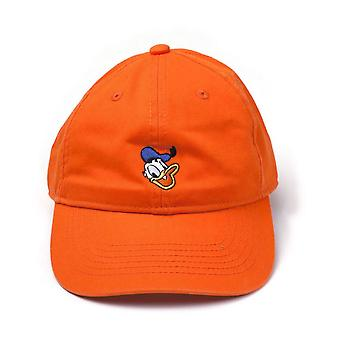 Disney Donald kacsa hímzett arc StoneWashed farmer apa Cap Orange BA456701DON