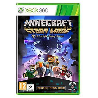 Minecraft Story Mode - A Telltale Game Series - Seizoen Disc (Xbox 360) - Als nieuw