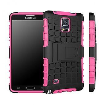 Pezzo di ibrido caso 2 SWL robot rosa Samsung Galaxy toccare 4 SM-N910 SM-N910F