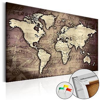 Quadri di sughero - Precious World [Cork Map]
