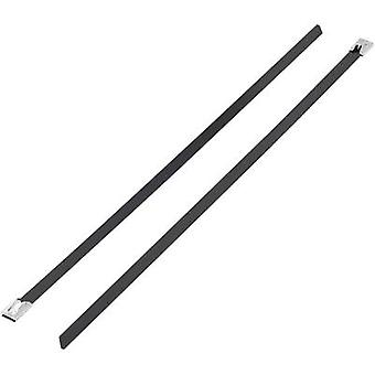KSS 1091213 BSTC-300L Cable tie 300 mm 7.90 mm Black Coated 1 pc(s)