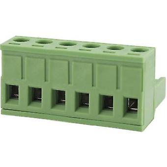 Degson Pin behuizing - kabel totaal aantal pinnen 10 Contact afstand: 5.08 mm 2EDGK-5,08-10P-14-00AH 1 PC('s)