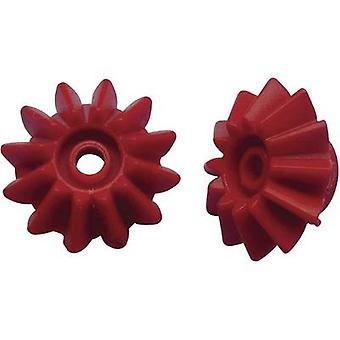 Workplace training material - Bevel gear wheels Reely Module Type 1.0 Bore diameter 2.9 mm No. of teeth 12