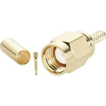 SMA connector stekker, rechte 50 Ω BKL elektronische 0409075 1 PC('s)