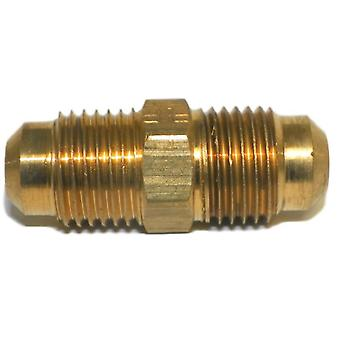Big A Service Line 3-14205 Brass Flare Union Connector 5/16